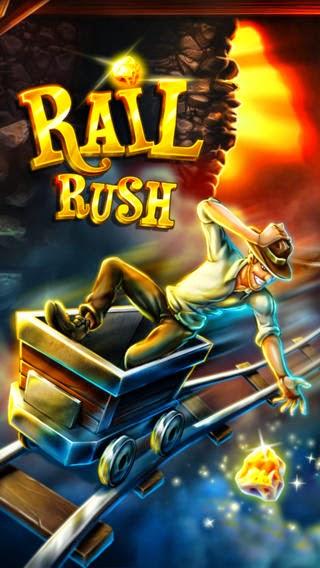 تحميل لعبة المغامرة Rail Rush 1.9.0 للأندرويد,iOS,ويندوز فون مجاناً