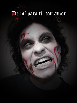 De mi para ti con amor maquillaje zombie halloween - Como maquillarse de zombie ...