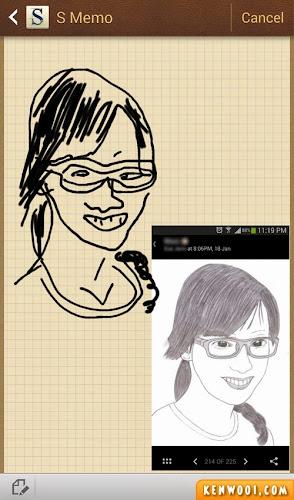 portrait drawing sketch 2
