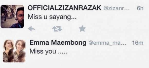 Bukti Percintaan Zizan & Emma Maembong Memang Benar?