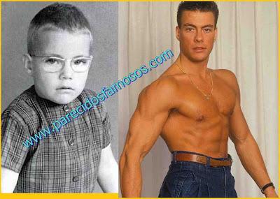 Jean Claude Van Damme antes y después