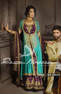 Best Bridal Wear Outfits By Rizwan Moazzam