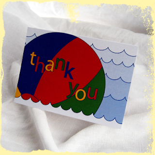 custom birthday thank you notes