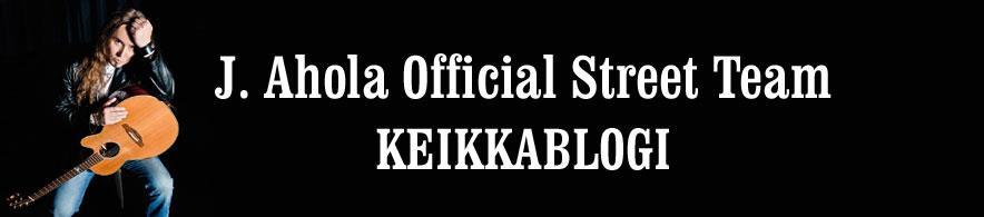 J. Ahola Official Street Teamin keikkablogi