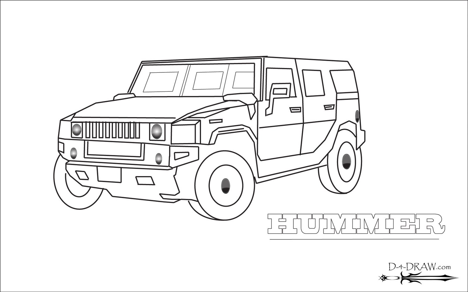 hummer coloring pages to print - photo#5