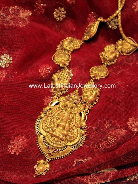 Divine Heavy Lakshmi Haram
