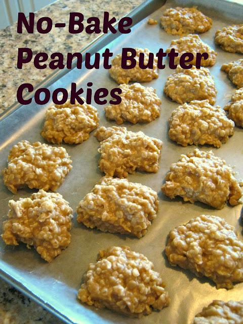 No-Bake Peanut Butter Cookies Recipe. Learn how to make a perfect no-bake cookie.