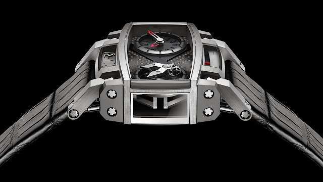 RJ - Romain Jerome Moon Orbiter Watch side