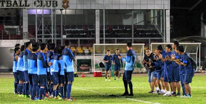 Hasil Skor Akhir: Timnas Indonesia U-19 vs Uni Emirat Arab AFC Cup U19 (Selasa, 14 Oktober 2014)