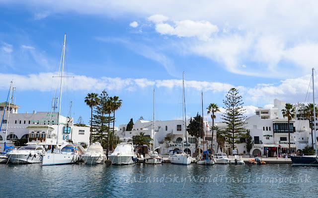 突尼西亞, tunisia, Port El Kantaoui, 康大為港