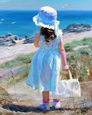 Pintura y Fotografía Artística : ARTE FIGURATIVO EN NIÑAS