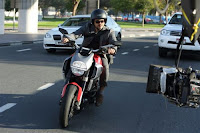 Ajith riding Ducati Photo 2