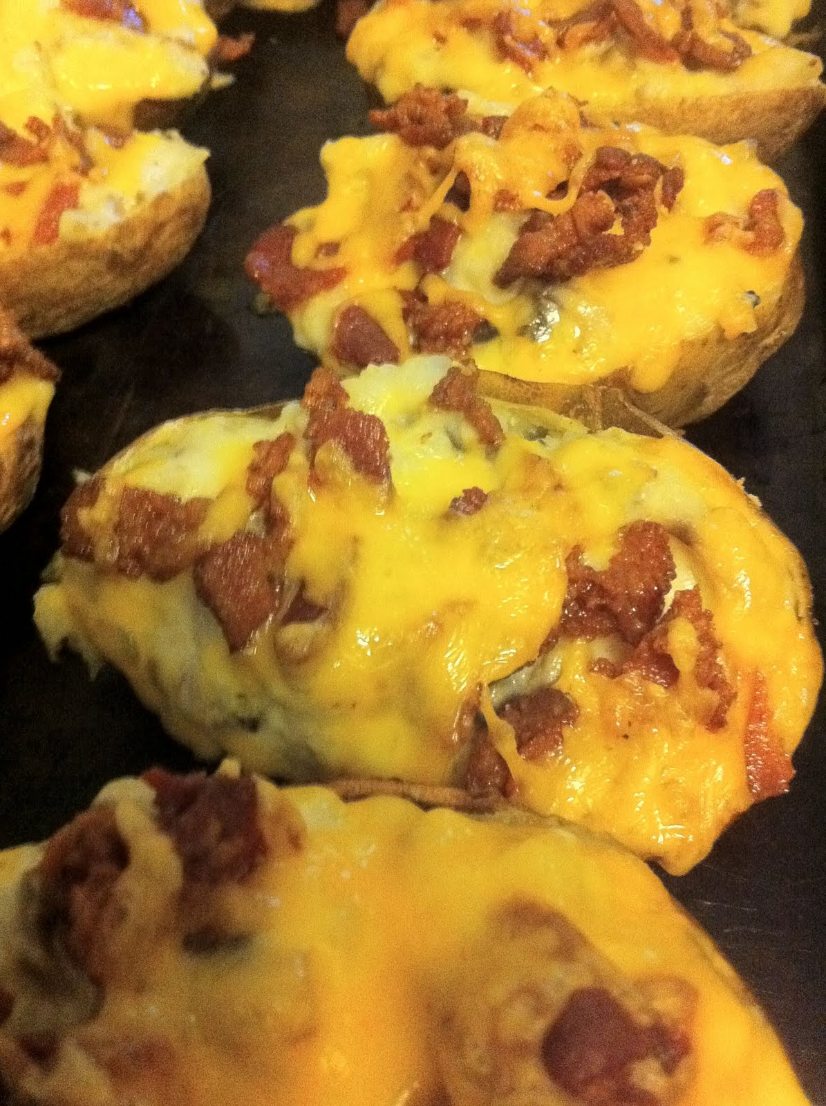 how to cook everything twice baked potatoes