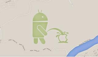 جوجل تتخد قرارا جديدا بعد فضيحة شعاري أندرويد و آبل !