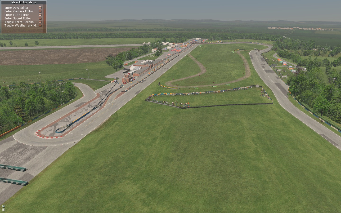 rfactor2 croft circuito ingles