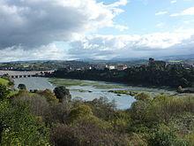 Ria of San Vicente de la Barquera in Cantabria, Spain