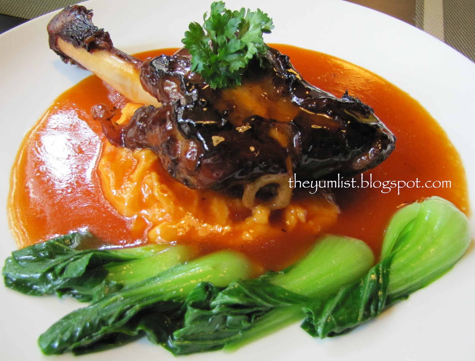 shanks with braised lamb shanks pressure braised lamb shank with soy ...