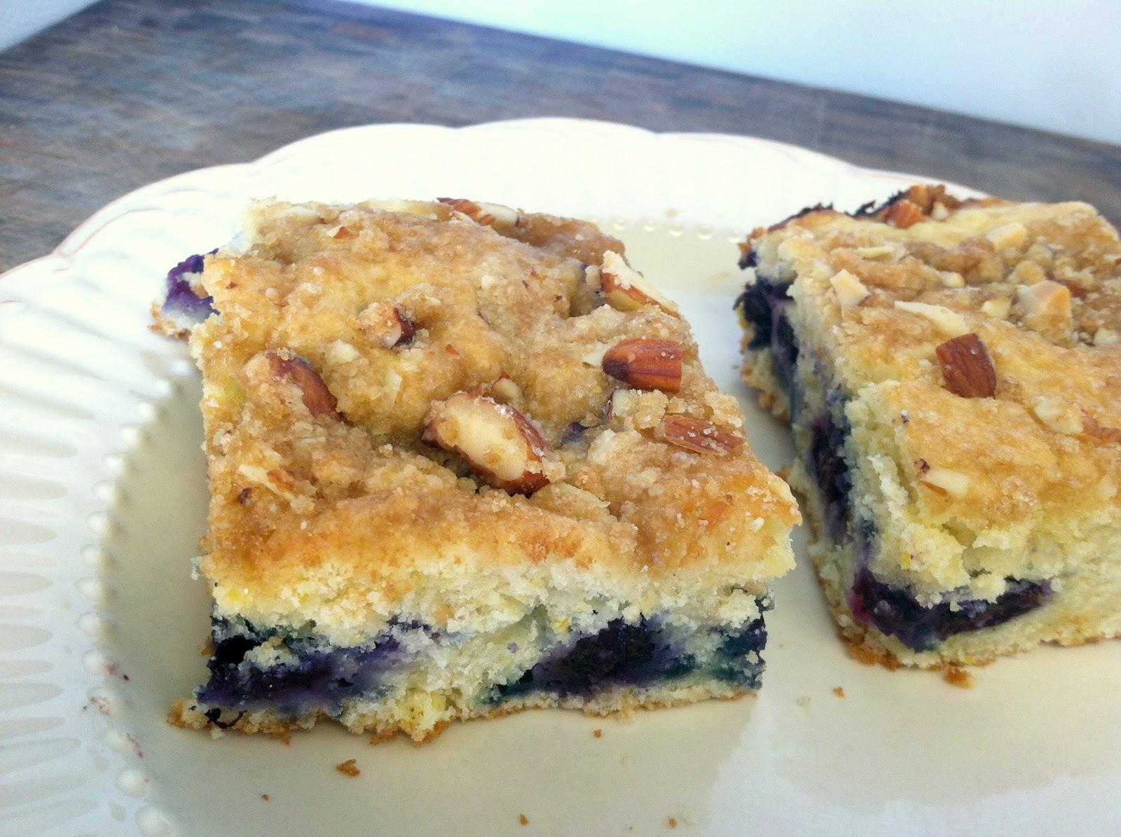 Norrey.: Lemon Blueberry Coffee Cake.
