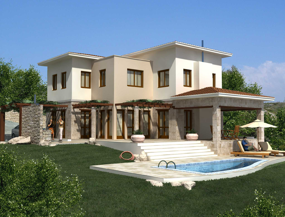 New home designs latest cyprus homes property modern designs exterior views - Home design ideas ...