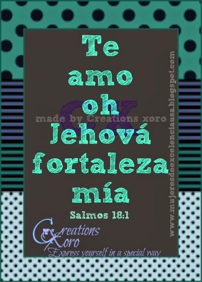 Oh Jehova tu eres mi fuerza
