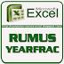 Rumus YEARFRAC