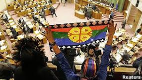El único terrorista es el Estado chileno, quienes abiertamente protegen los intereses económicos
