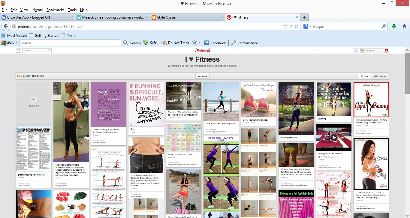what is the point of pinning the workouts if i never end up doing them