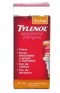 laboratório responsável pela produção do Tylenol, um medicamento ...
