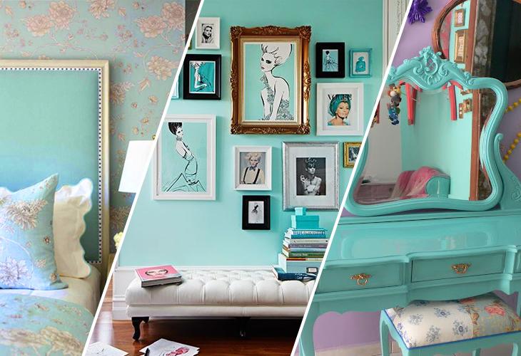 Inspiração Azul Tiffany em tudo! Blog Beauty Full ~ Quarto Rosa E Azul Tiffany