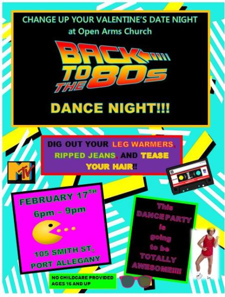 2-17 Back To The 80s Dance