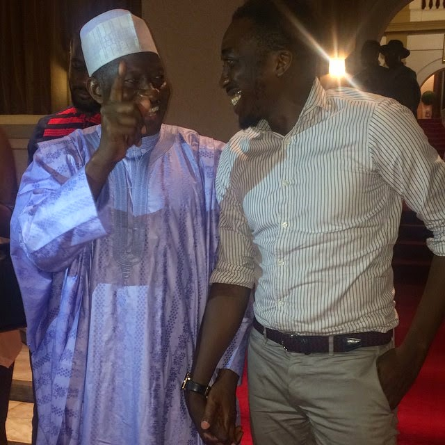 Comedian Bovi and Pres. Jonathan's Photo Causes A 'Storm' Online!