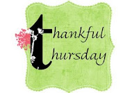 Thankful Thursdays hosted in May by Laurie @ Women Taking A Stand