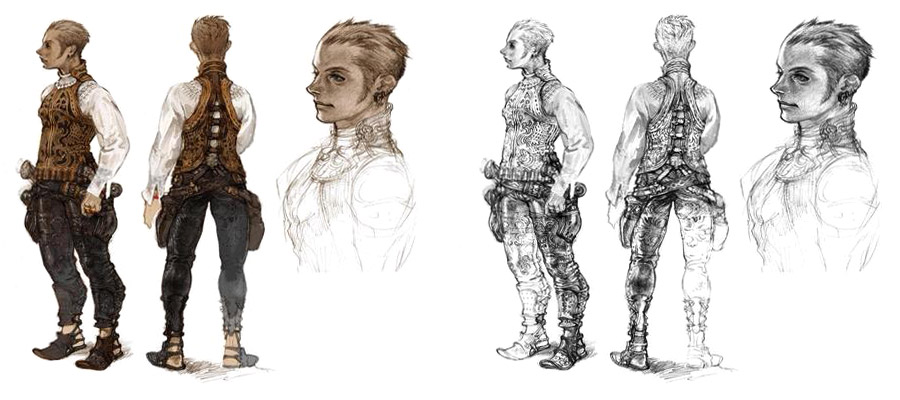 Character Design Final Fantasy Xii : Concept art links and reference september
