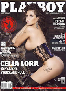 Celia Lora Playboy Mexico