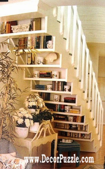 Innovative under stairs ideas and storage solutions, under stairs shelving