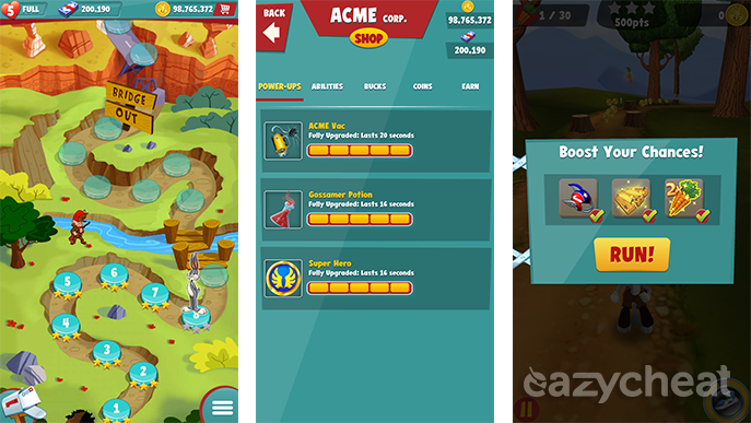 Looney tunes dash cheats easiest way to cheat android games looney tunes dash cheats voltagebd Choice Image