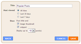 Cara Membuat Widget Popular Post di Blog