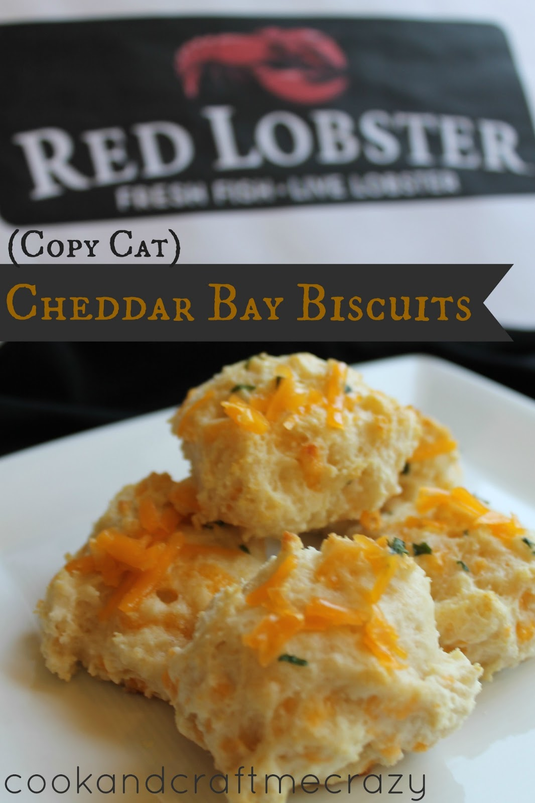 Cook and Craft Me Crazy: Red Lobster Cheddar Bay Biscuits - (Copy Cat)