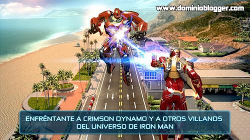 Juega Iron Man 3 gratis desde tu Smartphone - www.dominioblogger.com