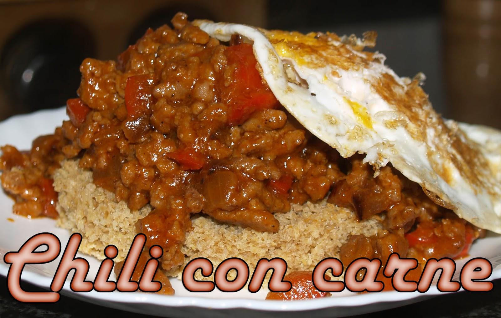 Chili con carne Dukan