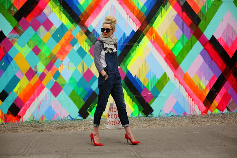 Overalls Outfit Inspo - via @Wandeleur