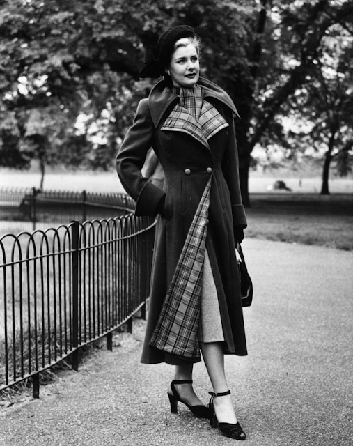 1940s Cold Weather Fashion #40s #coat #1940s #fashion #vintage #winter