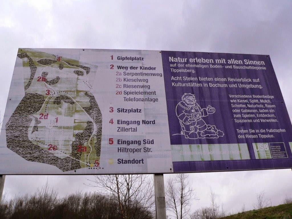 Bochum Ruhrgebiet Ruhrpott Halde