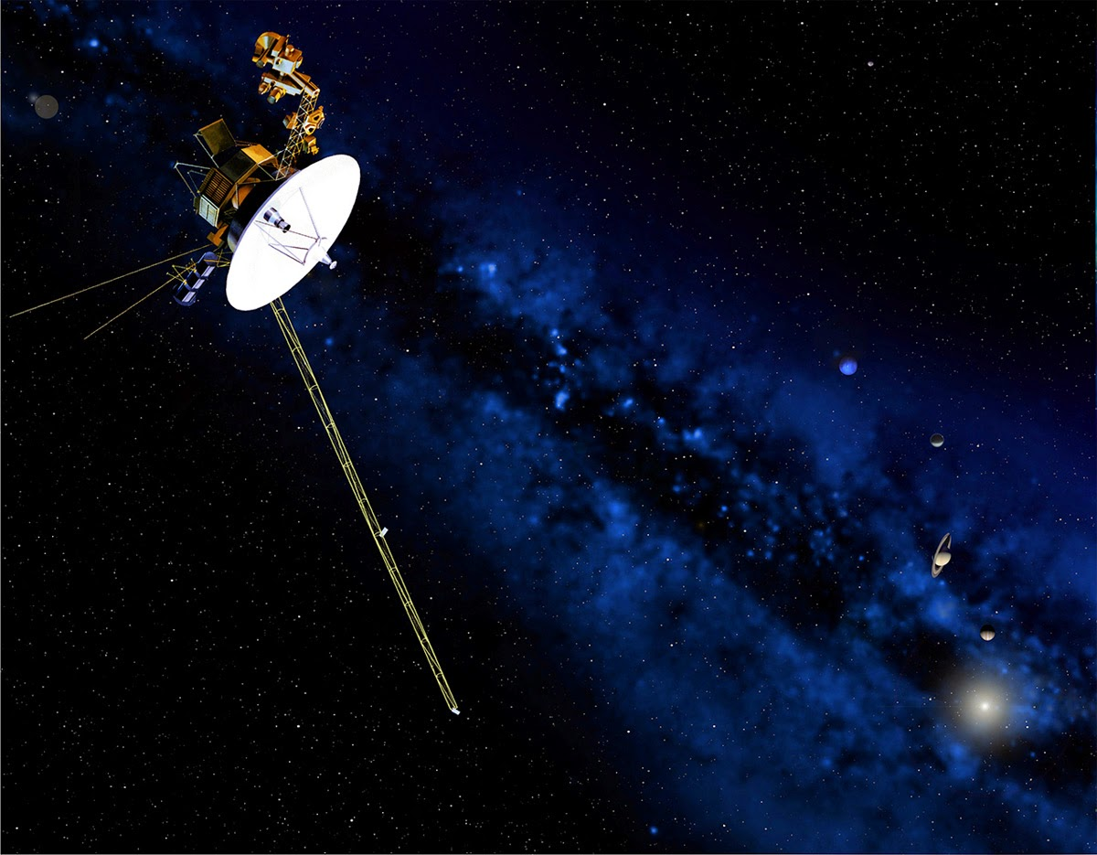 voyager 1 and 2 Voyager 2 was one of a pair of spacecraft launched to explore the planets of the outer solar system and the interplanetary environment each voyager had as its major objectives at each planet to: (1) investigate the circulation, dynamics, structure, and composition of the planet's atmosphere (2.