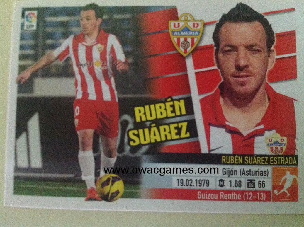 Liga ESTE 2013-14 Almeria 14A - Rubén Suárez