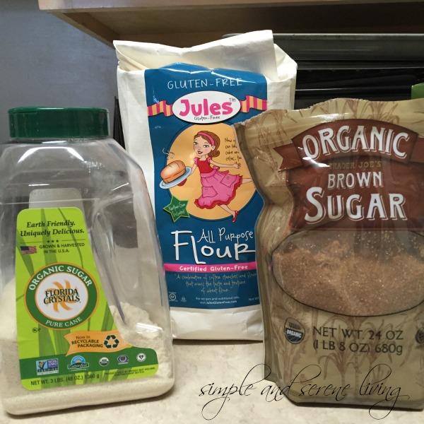gluten free organic muffins