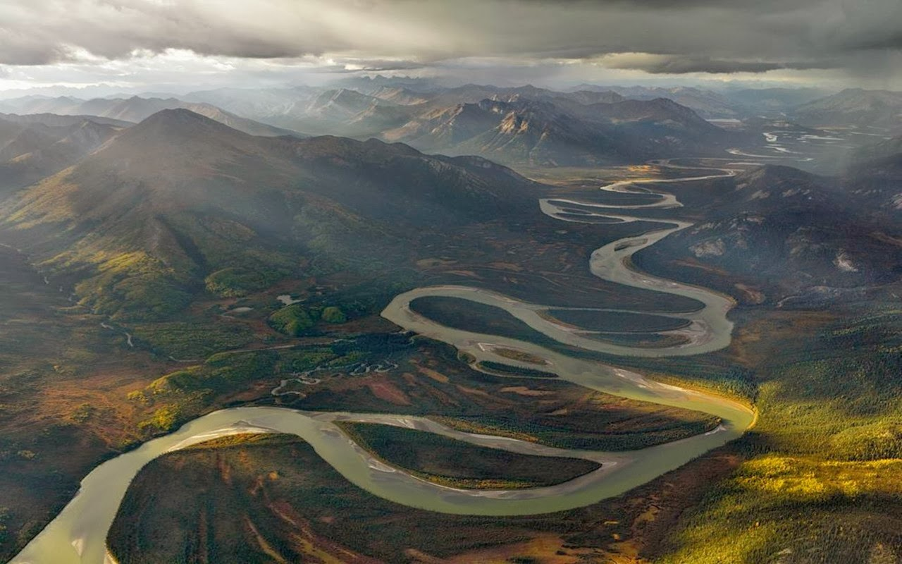 The Alatna River, Arctic National Park, Alaska: