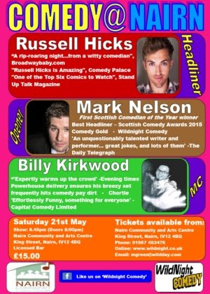 Comedy Nairn May 21st