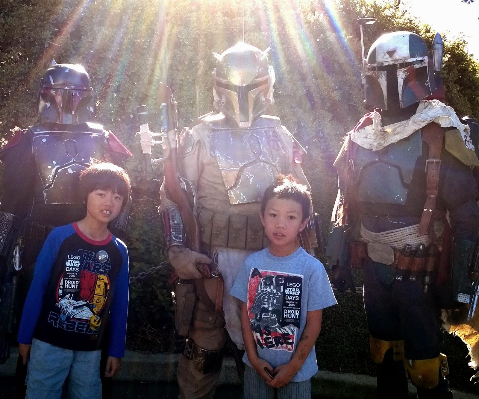 Legoland California Star Wars Days Mandalorian Mercs
