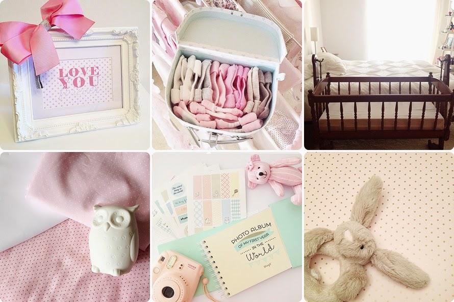 artigos de bebé menina